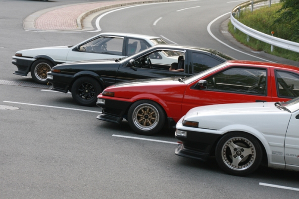 AE86 Front Shoot