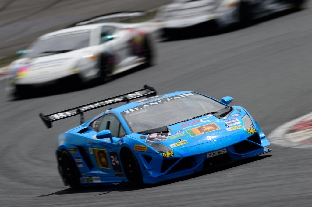 2014 Lamborghini Blancpain Super Trofeo Asia