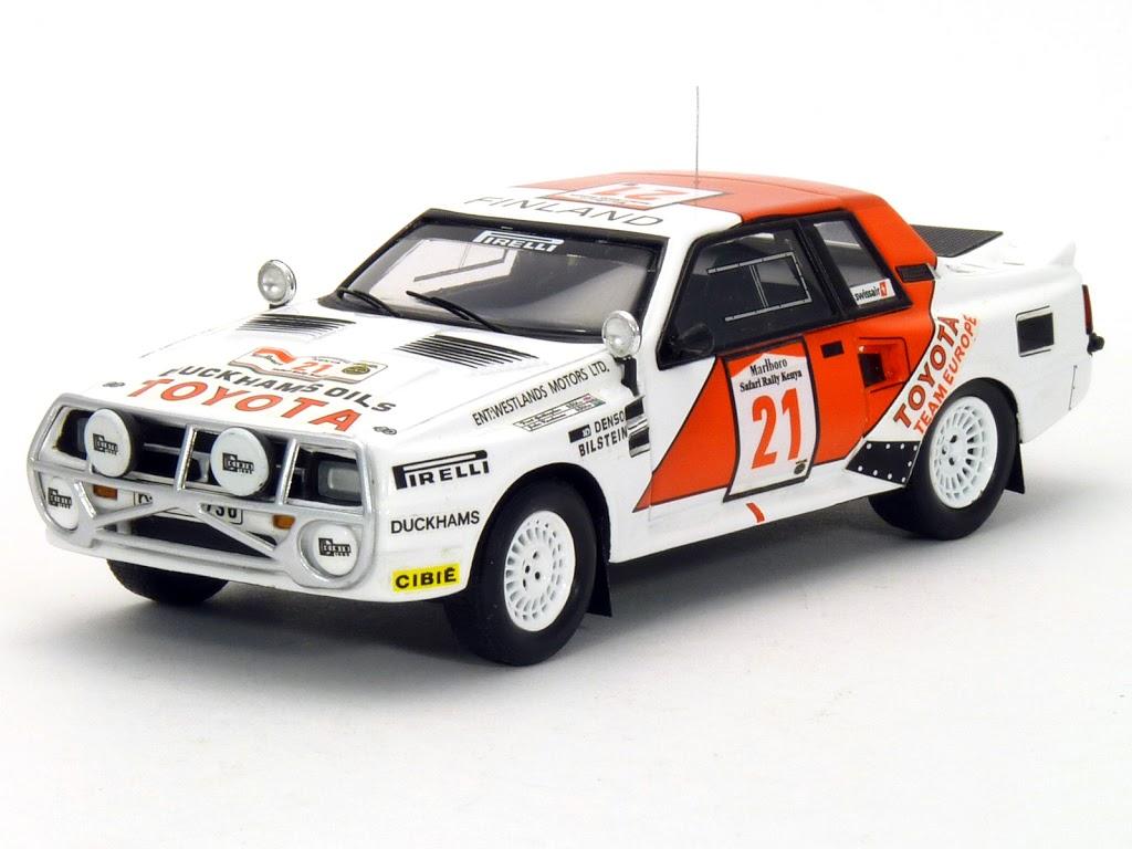 BZ215 Toyota Celica Twincam Turbo 1985 Safari Rally Winner J. Kankkunen