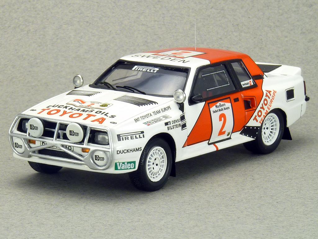 BZ216 Toyota Celica Twincam Turbo 1986 Safari Rally Winner B