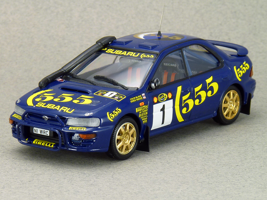 Impreza 555 1996 Safari Rally Kenya 4th Place C. McRae