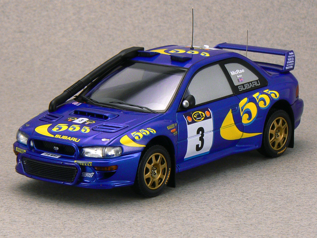 Impreza GC WRC97 1997 Safari Rally Winner C. McRae